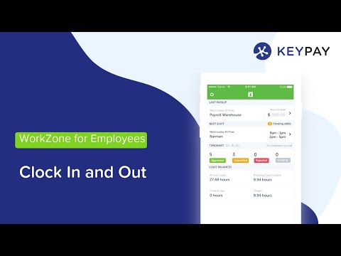 Time and Attendance - online timesheets and time clock app | KeyPay