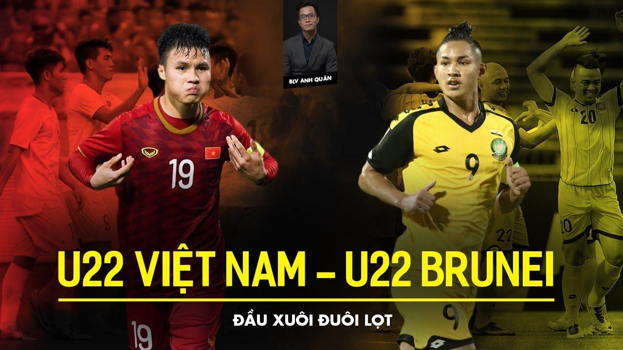 Xem lại U22 Việt Nam vs U22 Brunei highlights & video full match