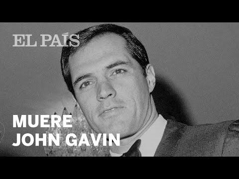 Muere John Gavin, actor de Hollywood y diplomático incómodo en México