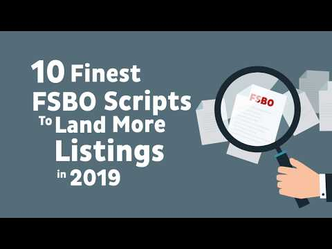 [Audio Blog] 10 Finest FSBO Scripts To Land More Listings In 2019