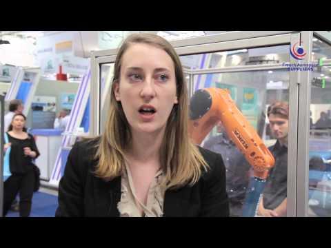 Juliette Tricoire - Europe Technologies parmi les French Aerospace au Bourget