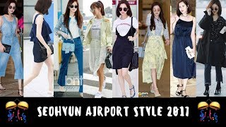 SEOJUHYUN BEST AIRPORT STYLE END OF 2017