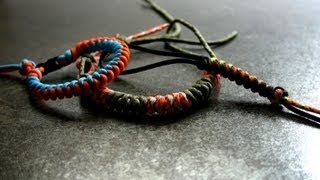 """Как сделать из паракорда простой темляк, брелок, браслет  - узлом """"Змея"""" \ DIY """"Snake"""" knot"""