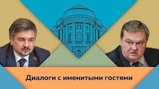 Р.В.Ищенко и Е.Ю.Спицын в студии МПГУ. \
