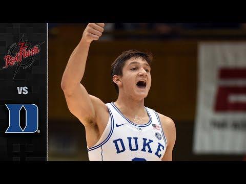 St. Francis (PA) vs. Duke Basketball Highlights (2017-18)