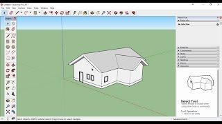Sketchup Ders 02: Basit ev yapımı