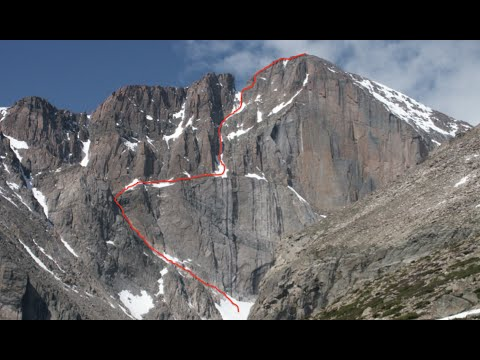 Freeing the East Face - Longs Peak