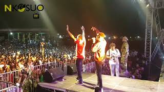 Kofi Kinaata made in Taadi concert 2018.