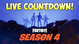 Season 4 Battle Pass LIVE COUNTDOWN! Fortnite: Road to 200 Wins [196/200]