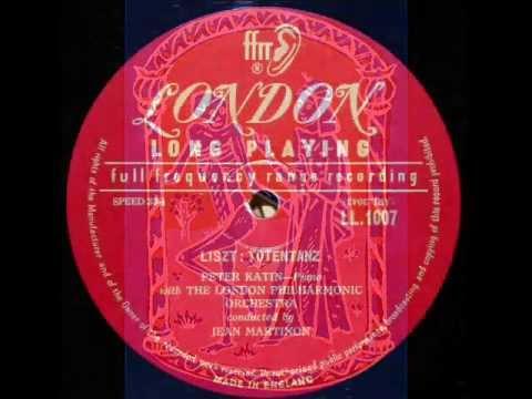 Liszt / Peter Katin, 1954: Totentanz - Jean Martinon, London Philharmonic (Part 1 of 2)