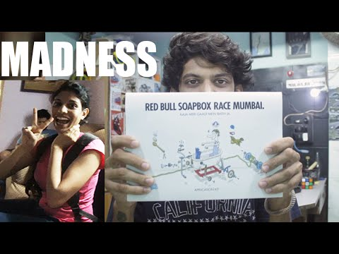 RED BULL Soap Box Race Mumbai India 2016 kit | Unboxing | VLOG 54