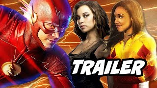The Flash Season 4 Dawn Allen and Iris West Flash Trailer Breakdown