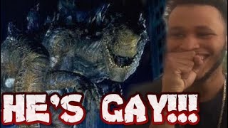 GAY ZILLA VOICEOVER by JC Entertainment - REACTION!!!