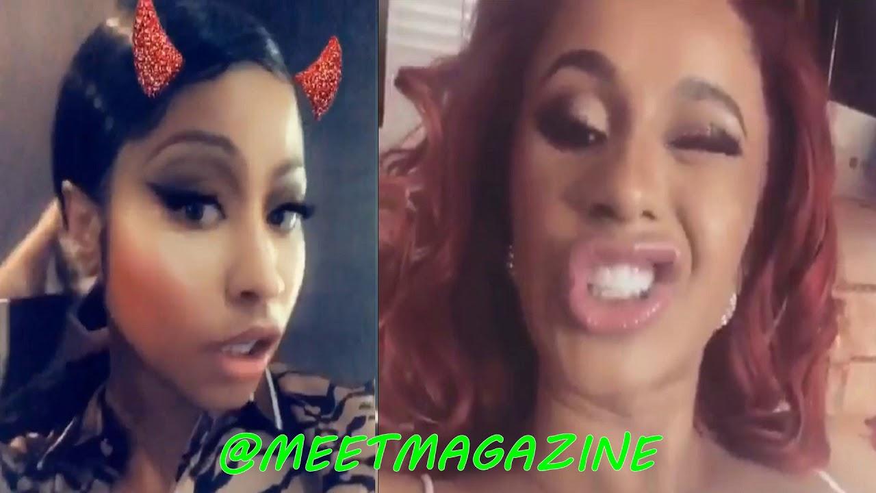 Cardi B fight with Nicki Minaj update! #BARDI didn't learn her lesson! #LHHNY
