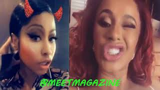 Cardi B fight with Nicki Minaj update! #BARDI didn't learn her lesson! #LHHNY