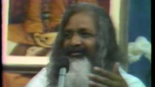 Maharishi Speaks on Suffering