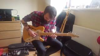 awesome melodic guitar solo liam maclean with cbg backing tracks