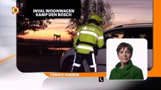 Politie en Defensie bij inval woonwagenkamp betrokken