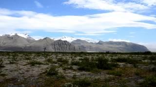 Gletscher beim Skaftafell Nationalpark