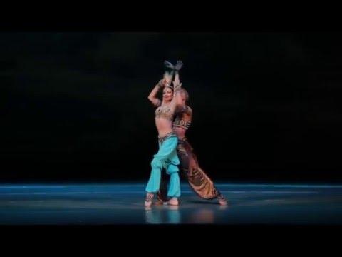 "Н. А. Римский Корсаков, адажио из балета ""Шехерезада"", хореография М. Фокина"