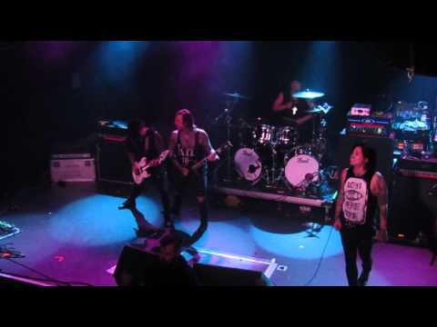 Escape The Fate - The Guillotine part 1 & 2 Live @ Rescue Rooms Notts, UK