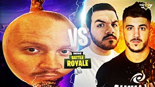 NICKMERCS AND COURAGE VS TIMTHETATMAN'S HAIRCUT?! (Fortnite: Battle Royale)