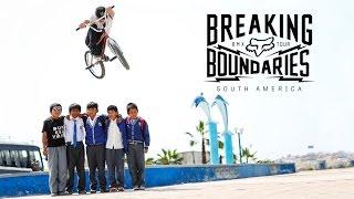 BMX - Fox BMX - Breaking Boundaries South America