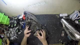 Тюнинг BMW E90 – замена фонарей, установка светодиодов, чипование + видео