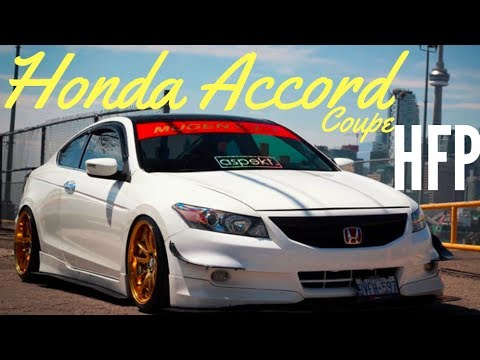 honda accord coupe review hfp package youtube