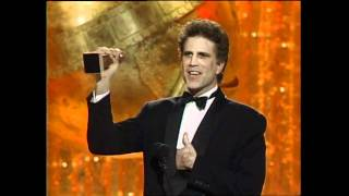 Ted Danson Wins Best Actor TV Series Musical or Comedy - Golden Globes 1990