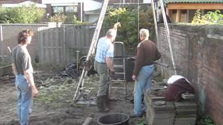 Buurtmoestuin 'van Postel' Venlo-noord, waterpomp 2