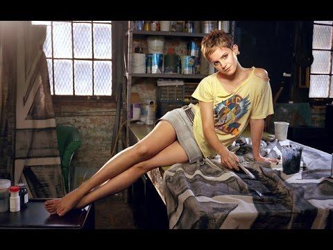 Emma Watson in ELLE UK  #Trend