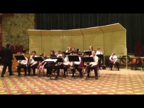 Murphysboro Middle School Jazz Band at Gatlinburg