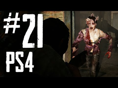 Last of Us Remastered PS4 - Walkthrough Part 21 - Hotel Basement & The Generator of Death