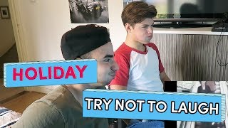 Try Not To Laugh - Holiday | Brugklas Seizoen 6