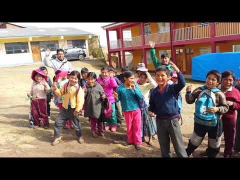 Students In Bolivia