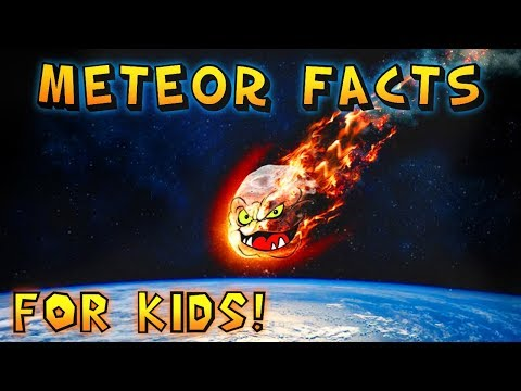 Meteor Facts for Kids!