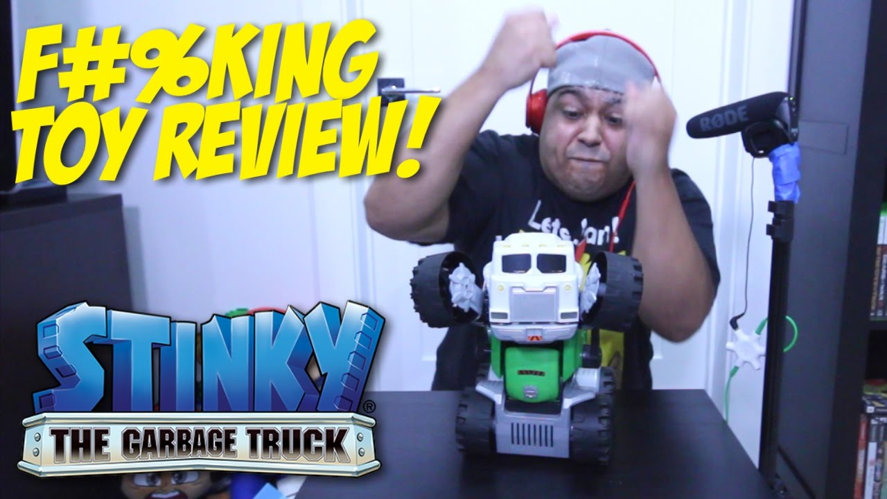 how to make stinky the garbage truck dance
