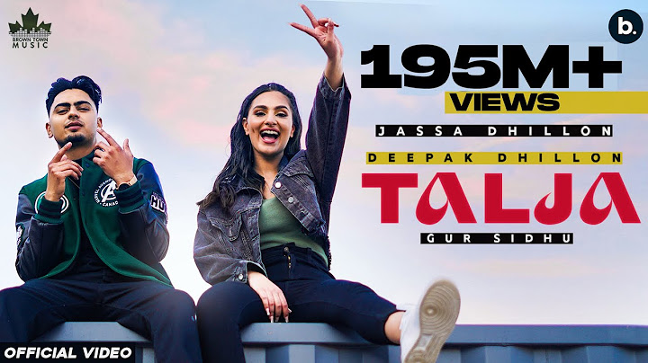talja official video jassa dhillon  deepak dhillon  gur sidhu  new punjabi song 2021 above all