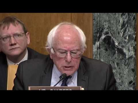 Bernie Sanders GRILLS Mick Mulvaney Confirmation Hearing for OMB Director Nominee