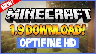 ★Minecraft Optifine HD + Shaders 1.9 (2016) - Voice Tutorial Download (NEW 1.9 VERSION!)★