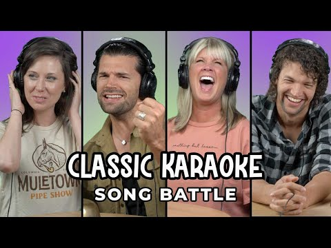 For King & Country And Natalie Grant Sing And Guess Karaoke Songs | Song Battle