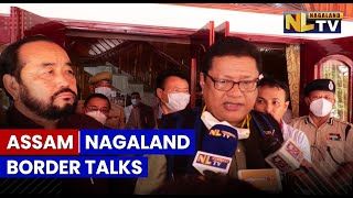 MEETING HELD BETWEEN NAGALAND GOVT AND ASSAM GOVT