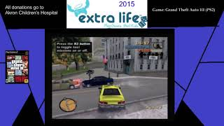Extra Life 2015: Part 15E - Grand Theft Auto III