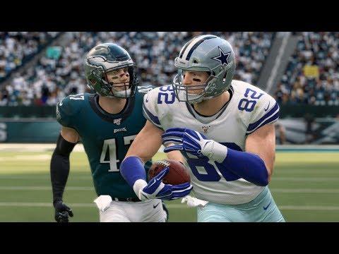 NFL Today 12/22 Dallas Cowboys Vs Philadelphia Eagles Full Game   NFL Week 16 (Madden)