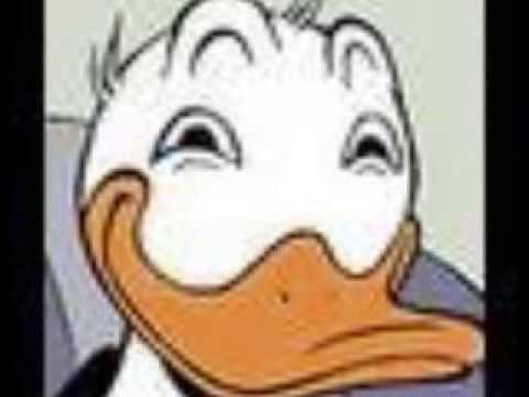Donald Duck stares into your soul - YouTube