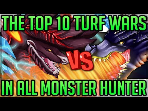 The Top 10 Turf Wars to Come to Monster Hunter World! (Best Fights) (Discussion/Fun) #mhw #turfwars