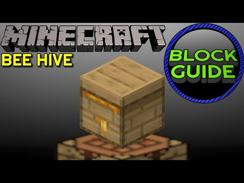 How To Use Beehive In Minecraft Java Edition