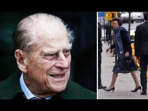 Prince Philip health:  Princess Anne visits father in hospital
