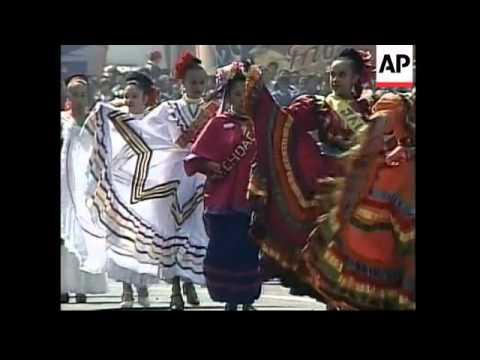 Celebrations of 91st anniversary of Mexican Revolution